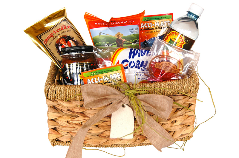 Welcome Basket Crested Butte Gift Baskets